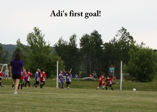 Adi's first goal